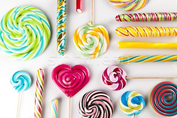 Bonbons gomme coloré différent Photo stock © JanPietruszka