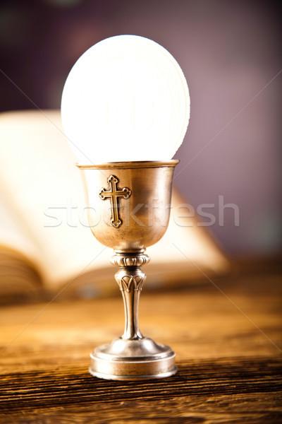 Amore religione luminoso libro Gesù chiesa Foto d'archivio © JanPietruszka