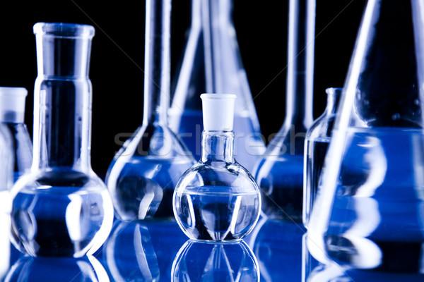 Chemia jasne nowoczesne chemicznych szkła nauki Zdjęcia stock © JanPietruszka