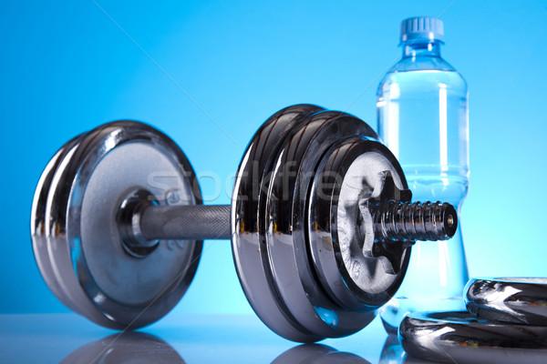 Weight loss, fitnes Stock photo © JanPietruszka