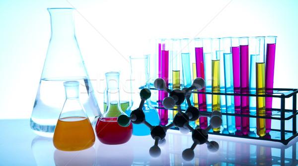 Laboratory glassware  Stock photo © JanPietruszka