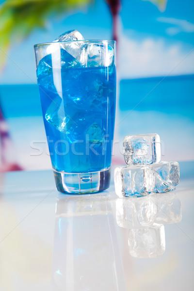 Koktajle alkoholu pić naturalnych kolorowy żywności Zdjęcia stock © JanPietruszka