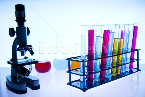 Laboratórium hely tudományos kutatás környezeti kutatás orvosi Stock fotó © JanPietruszka