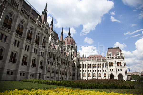 парламент здании Будапешт природного красочный дома Сток-фото © JanPietruszka