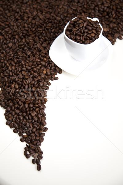 カフェイン 明るい テクスチャ 食品 フレーム ストックフォト © JanPietruszka