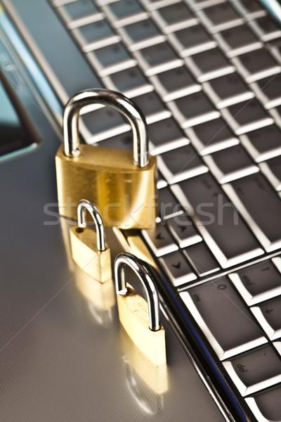 Сток-фото: компьютер · безопасности · современных · сеть · бизнеса