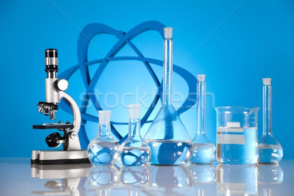 Laboratuvar cam kimya bilim formül tıp Stok fotoğraf © JanPietruszka