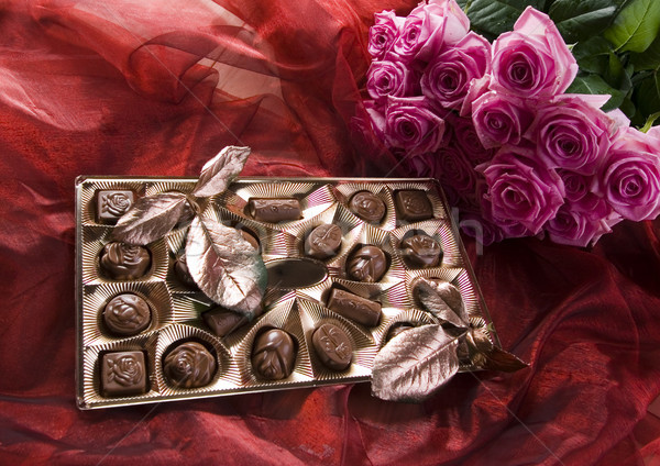 Sweet gift, vivid colors, natural tone Stock photo © JanPietruszka