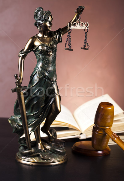 Scales of Justice and Law Stock photo © JanPietruszka