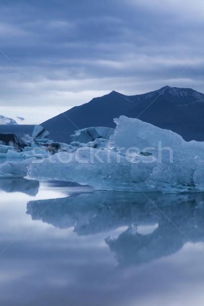 Glacier in Iceland Stock photo © JanPietruszka