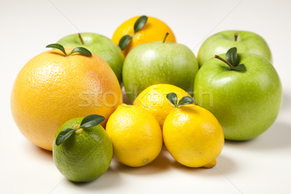 Fruit mix, bright colorful tone concept Stock photo © JanPietruszka