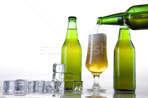 Csendélet sör fényes vibráló alkohol buli Stock fotó © JanPietruszka