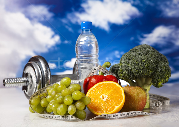 Healthy lifestyle concept, vitamins Stock photo © JanPietruszka