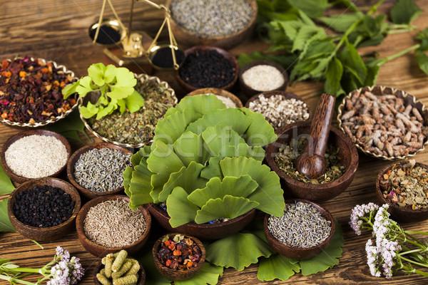ストックフォト: 代替医療 · ハーブ · 自然 · 医療 · 自然