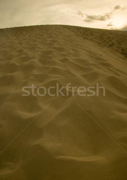 Desert pure nature beautiful landscape Stock photo © JanPietruszka