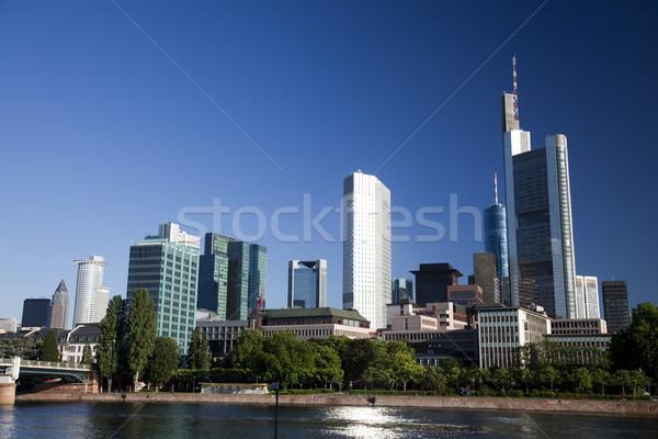 Paisaje urbano brillante colorido negocios oficina edificio Foto stock © JanPietruszka