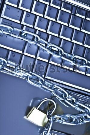 Számítógép internet szimbólumok modern hálózat üzlet Stock fotó © JanPietruszka