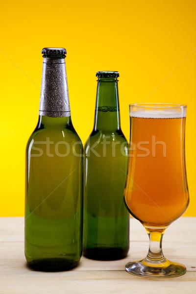 Concept of beer, bright vibrant alcohol theme Stock photo © JanPietruszka