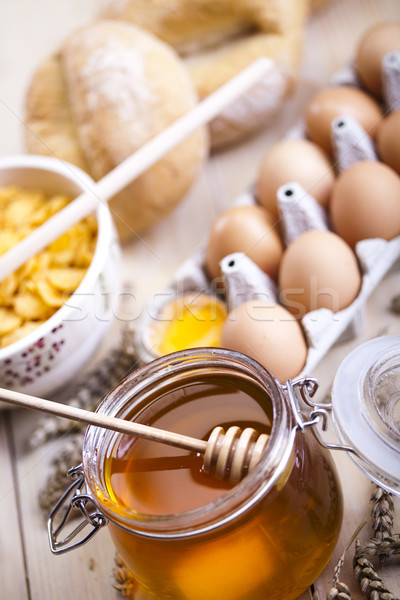Breakfast  Stock photo © JanPietruszka
