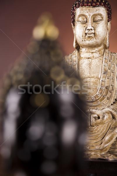 Portrait of a buddha Stock photo © JanPietruszka