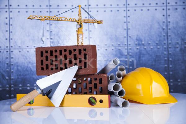 Construction équipement bâtiment affaires Finance Photo stock © JanPietruszka