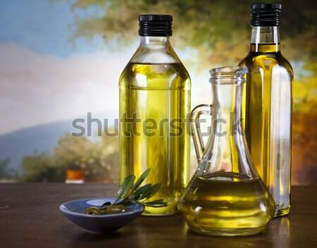 Olive Oil  Stock photo © JanPietruszka