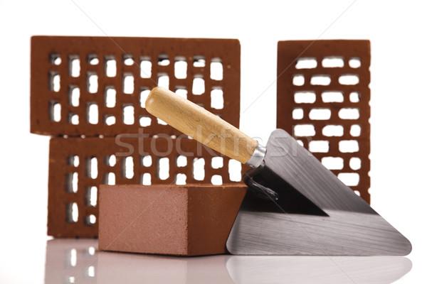 Brick background Stock photo © JanPietruszka