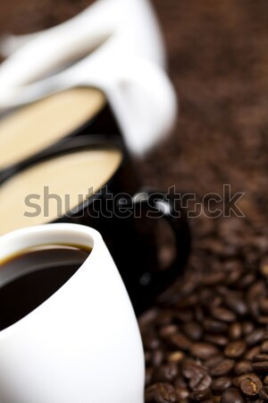 Cup with coffee, vivid bright theme Stock photo © JanPietruszka