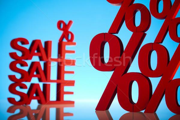 Percent sign  Stock photo © JanPietruszka