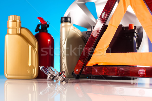 Auto auto levendig moto licht Stockfoto © JanPietruszka