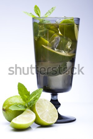 Fresh mojito drink Stock photo © JanPietruszka