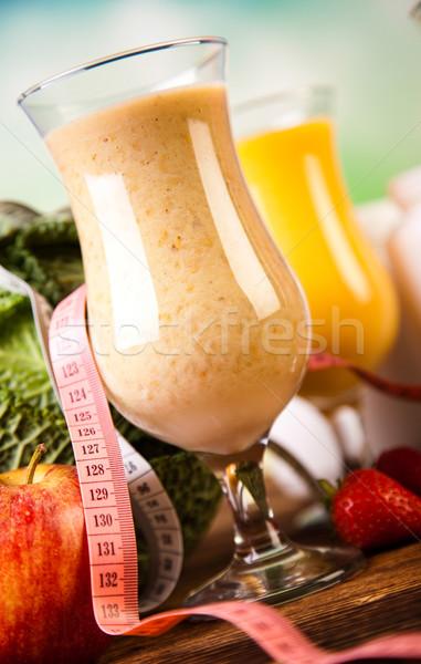 Vitamina fitness dieta frutas salud Foto stock © JanPietruszka