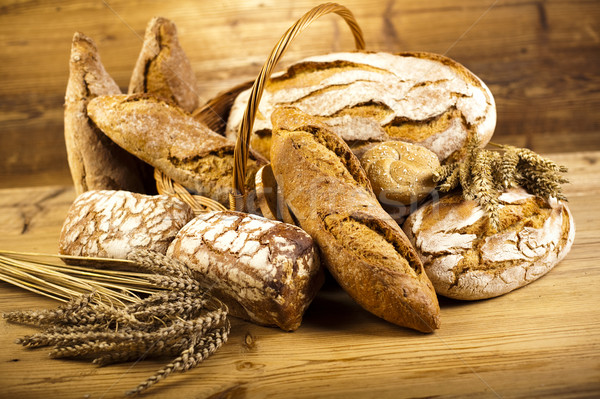 Traditional bread, natural colorful tone Stock photo © JanPietruszka