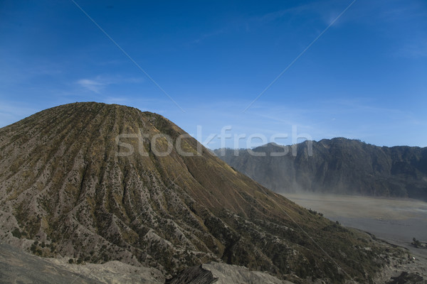 Volcano in Bromo, Java, Indonesia, bright colorful vivid theme Stock photo © JanPietruszka