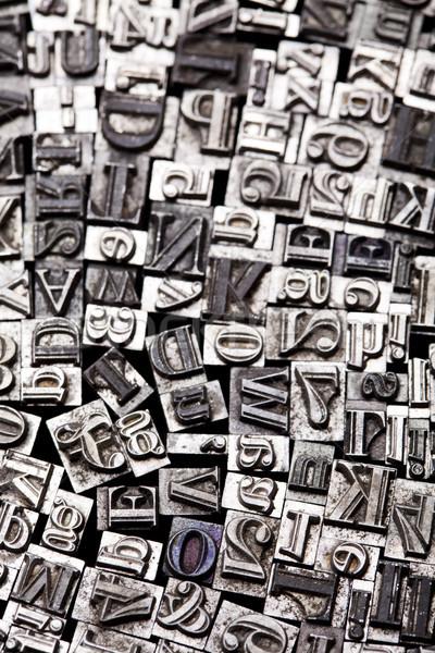 ヴィンテージ 手紙 通信 ストックフォト © JanPietruszka