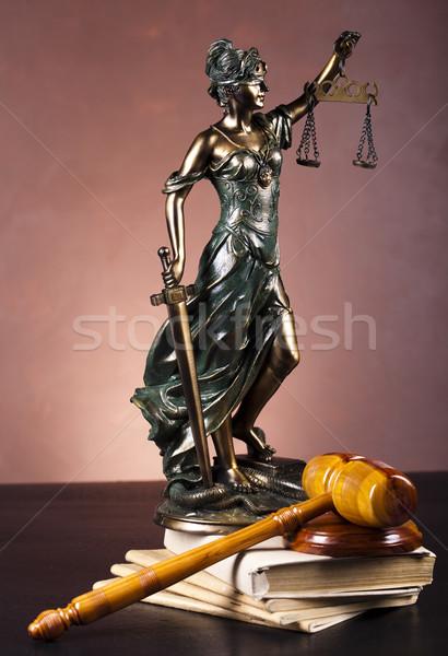 Statue of lady justice Stock photo © JanPietruszka
