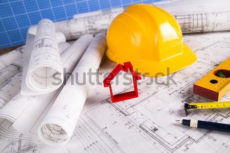 Bâtiment maison architecture art science bâtiments Photo stock © JanPietruszka