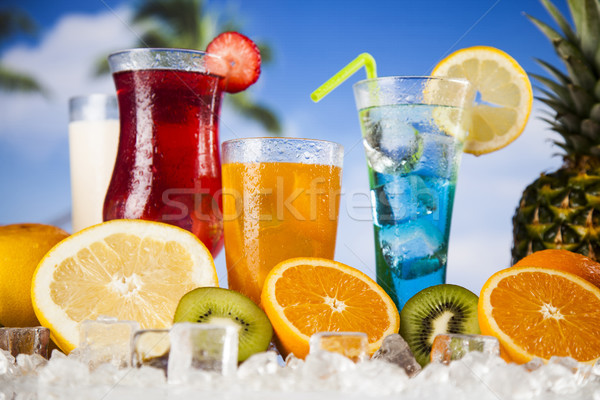 Exotic alcohol drinks Stock photo © JanPietruszka