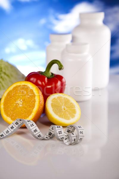 Ek diyet spor uygunluk sağlık tıp Stok fotoğraf © JanPietruszka