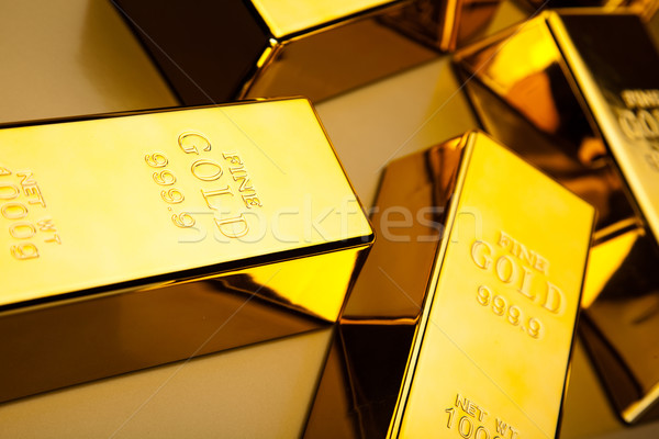 Gold value, ambient financial concept Stock photo © JanPietruszka