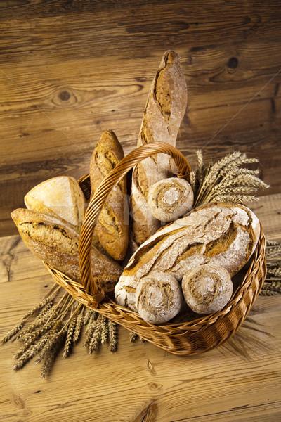 Tradicional pan naturales colorido alimentos Foto stock © JanPietruszka