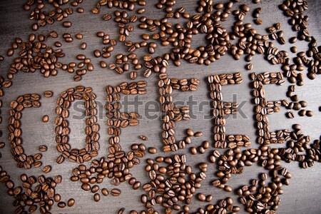 Stock photo: Caffeine overdose, vivid bright theme
