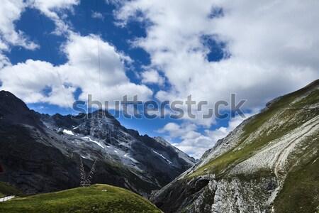 Landscape in mountains, natural colorful tone Stock photo © JanPietruszka