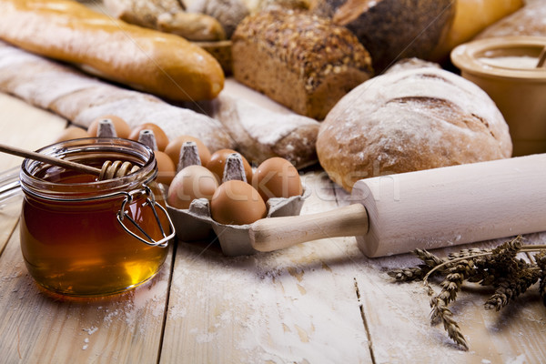 Bread composition Stock photo © JanPietruszka