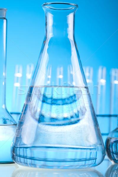 Química laboratorio cristalería médicos laboratorio Foto stock © JanPietruszka