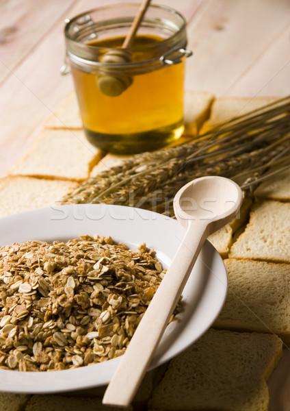 農村 自然食品 食品 背景 パン ディナー ストックフォト © JanPietruszka