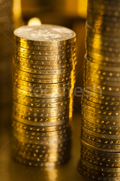 Finance Concept, coins Stock photo © JanPietruszka