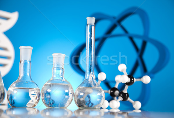 лаборатория стекла химии науки формула медицина Сток-фото © JanPietruszka