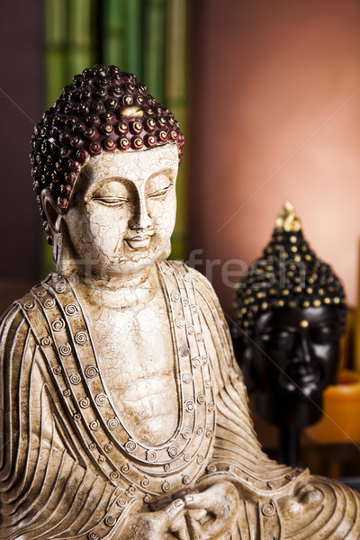 Zen buddha statue Stock photo © JanPietruszka