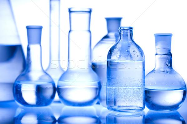Chimica laboratorio cristalleria tecnologia salute Foto d'archivio © JanPietruszka